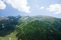 Fagaras mountains in Romania Stock Photos