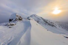 Fagaras Mountains, Romania Royalty Free Stock Photography