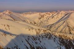 Fagaras Mountains, Romania stock photos