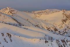 Fagaras Mountains, Romania stock image