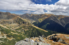 Fagaras Mountains in Romania Stock Photography