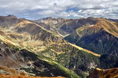 Fagaras Mountains in Romania Stock Photography