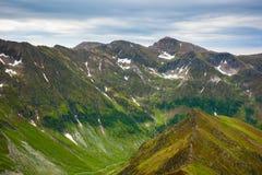 Fagaras mountains in Romania Royalty Free Stock Photos