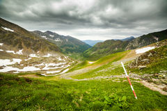 Fagaras mountains in Romania Stock Photo