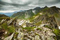 Fagaras mountains in Romania Stock Image