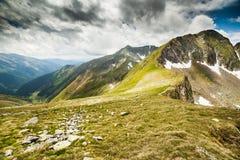 Fagaras mountains in Romania Stock Photo
