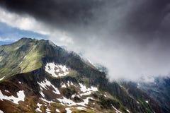 Fagaras mountains in Romania Royalty Free Stock Photography