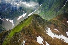 Fagaras mountains in Romania Royalty Free Stock Photo