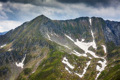 Fagaras mountains in Romania Stock Images
