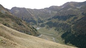 Fagaras mountains, Romania Royalty Free Stock Photo