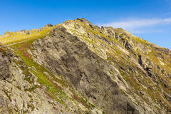 Fagaras mountains in Romania Stock Images