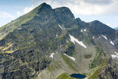 Fagaras mountains in Romania Royalty Free Stock Image