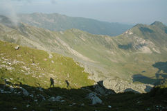 Fagaras mountains, Southern Carpathians, Romania Royalty Free Stock Photography