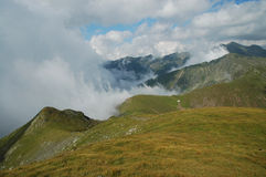 Fagaras mountains, Southern Carpathians, Romania Royalty Free Stock Images