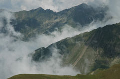 Fagaras mountains, Southern Carpathians, Romania Stock Photos