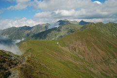 Fagaras mountains, Southern Carpathians, Romania Royalty Free Stock Photo