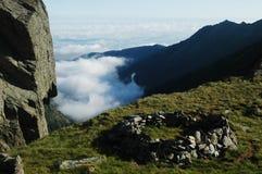 Fagaras mountains, Southern Carpathians, Romania Royalty Free Stock Photography