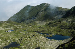 Fagaras mountains, Southern Carpathians, Romania Royalty Free Stock Image