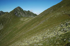 Fagaras mountains, Southern Carpathians, Romania Royalty Free Stock Photos