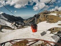 Fagaras Mountains, Southern Carpathians, Romania stock image