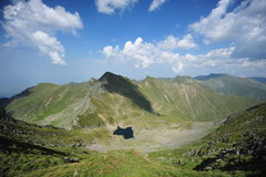 Fagaras mountains, summer landscape Stock Photo