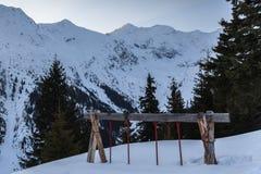 Fagaras Mountains Royalty Free Stock Photo