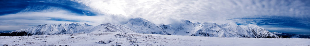 Fagaras panorama Royalty Free Stock Image