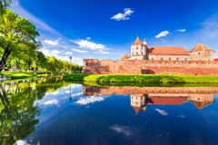 Fagaras Fortress, Transylvania - Romania royalty free stock images