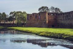 Fagaras stronghold, Fagaras city, Romania Royalty Free Stock Images