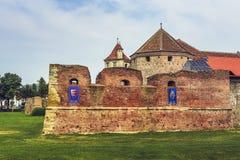 Fagaras stronghold, Fagaras, Romania Stock Photo