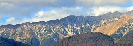 Fagarasi mountains Stock Photo