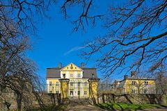 Fagervik manor Royalty Free Stock Photography