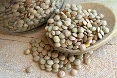 Fagioli dei legumi delle lenticchie Fotografie Stock
