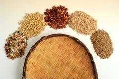 Fagioli dei legumi per fondo Immagine Stock Libera da Diritti