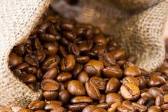 Fagioli del caffè espresso fotografia stock libera da diritti