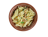 Fagioli des pâtes e Images stock