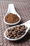 Fagioli di Cofee Fotografia Stock