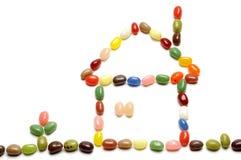 Fagioli di gelatina Fotografie Stock