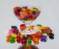 Fagioli di gelatina Immagini Stock Libere da Diritti