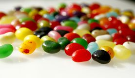 Fagioli di gelatina fotografia stock