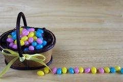 Fagioli di gelatina di Pasqua fotografia stock libera da diritti