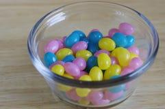 Fagioli di gelatina di Pasqua fotografia stock
