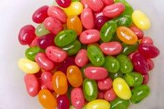 Fagioli di gelatina variopinti Fotografia Stock