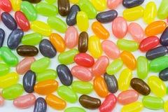 Fagioli di gelatina variopinti Immagini Stock Libere da Diritti