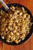 Fagioli e quinoa del riso sbramato Immagini Stock