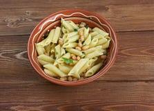 Fagioli för pasta e Royaltyfri Foto