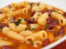 Fagioli för pasta e Royaltyfri Bild