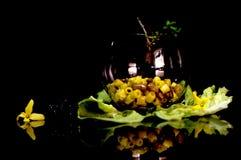 Fagioli för pasta e Pasta och bönor italy Royaltyfri Fotografi