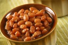 Fagioli in salsa Immagini Stock Libere da Diritti