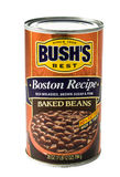 Fagioli in salsa di Bushs Fotografia Stock